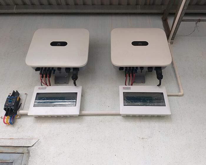 Hoàn thành lắp hệ thống điện mặt trời 40KW cho chị Vy ở Đắk Nông 7