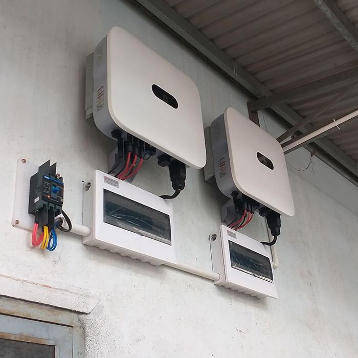 Hoàn thành lắp hệ thống điện mặt trời 40KW cho chị Vy ở Đắk Nông 8