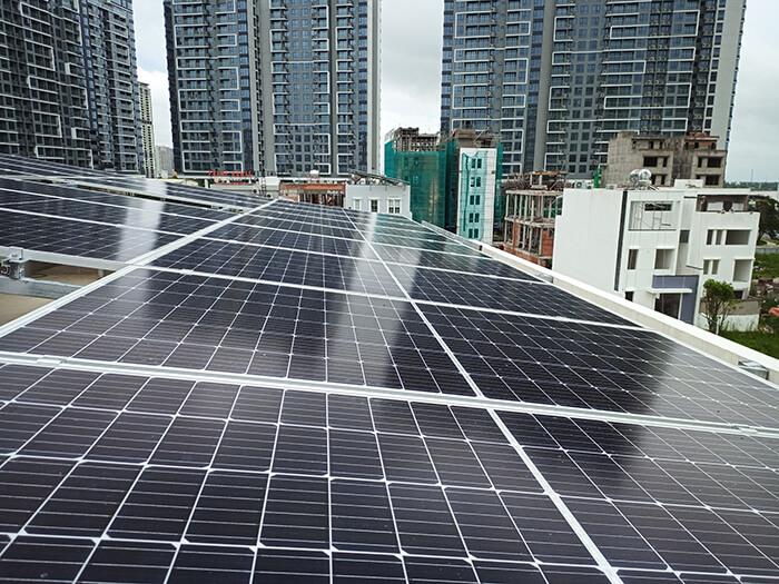 hệ thống điện mặt trời hòa lưới 9KW cho Chú Tuấn ở Quận 2