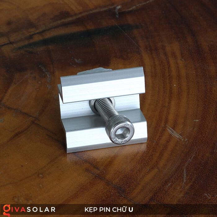 Bát chữ U kẹp giữa pin năng lượng mặt trời 40mm 1