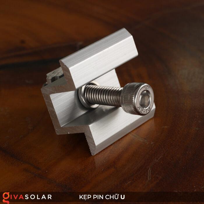 Bát chữ U kẹp giữa pin năng lượng mặt trời 40mm 3