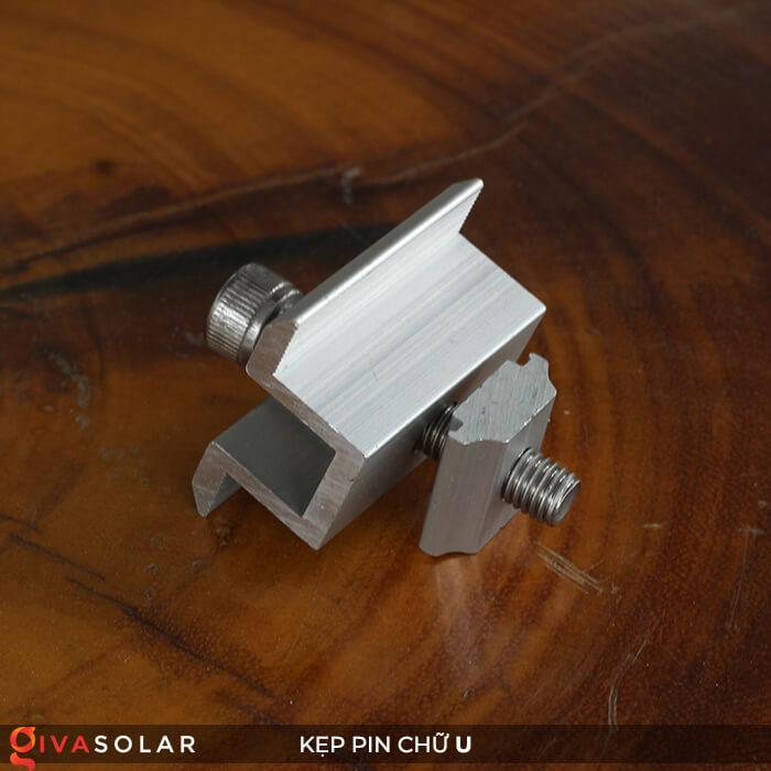 Bát chữ U kẹp giữa pin năng lượng mặt trời 40mm 4