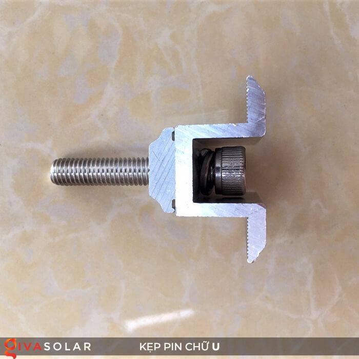 Bát chữ U kẹp giữa pin năng lượng mặt trời 40mm 5