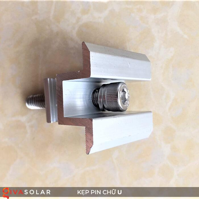 Bát chữ U kẹp giữa pin năng lượng mặt trời 40mm 6