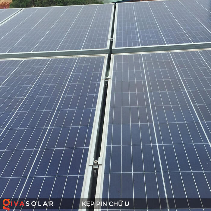 Bát chữ U kẹp giữa pin năng lượng mặt trời 40mm 8