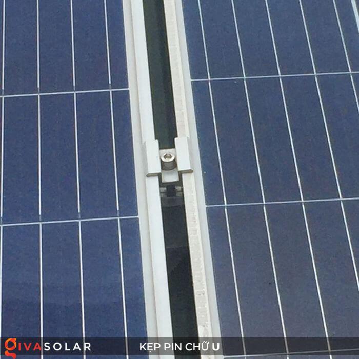 Bát chữ U kẹp giữa pin năng lượng mặt trời 40mm 9