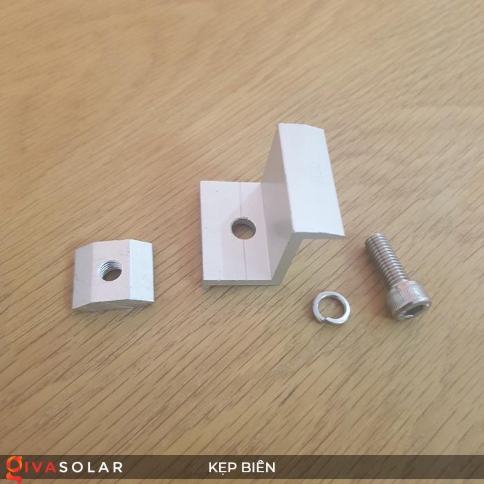 Bát kẹp biên bìa tấm pin năng lượng mặt trời 40mm 1