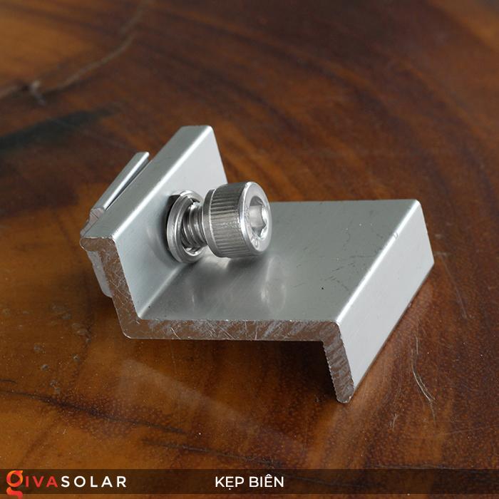 Bát kẹp biên bìa tấm pin năng lượng mặt trời 40mm 2