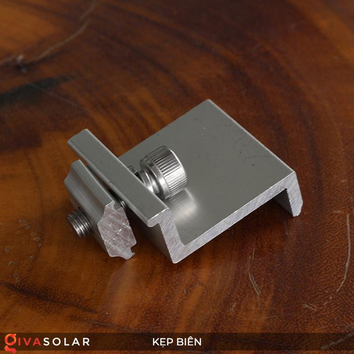 Bát kẹp biên bìa tấm pin năng lượng mặt trời 40mm 3