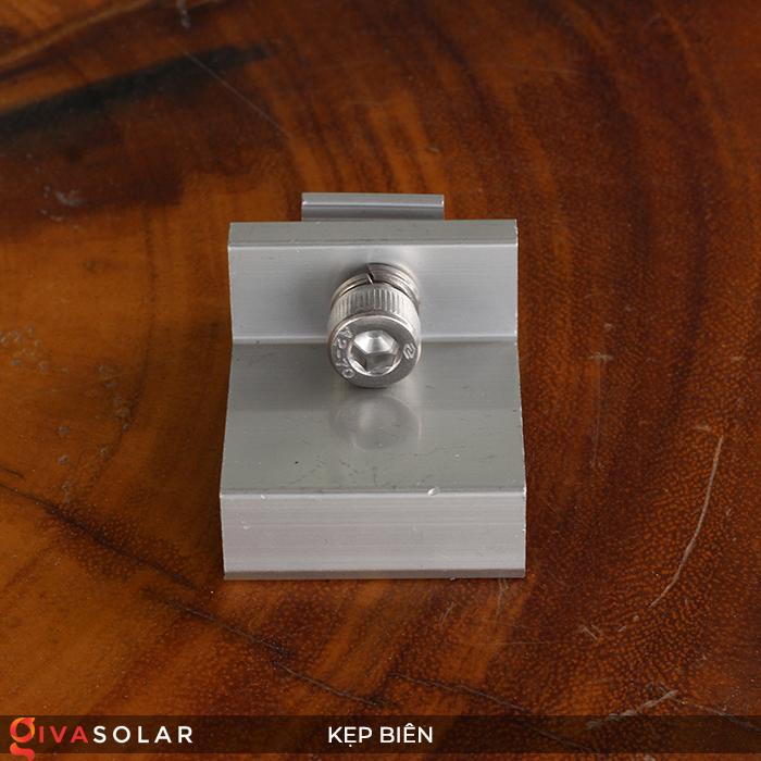 Bát kẹp biên bìa tấm pin năng lượng mặt trời 40mm 4