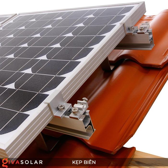 Bát kẹp biên bìa tấm pin năng lượng mặt trời 40mm 7