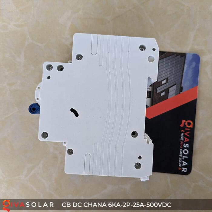 Cầu dao điện CB DC CHANA 2P-6KA-25A-500VDC 10