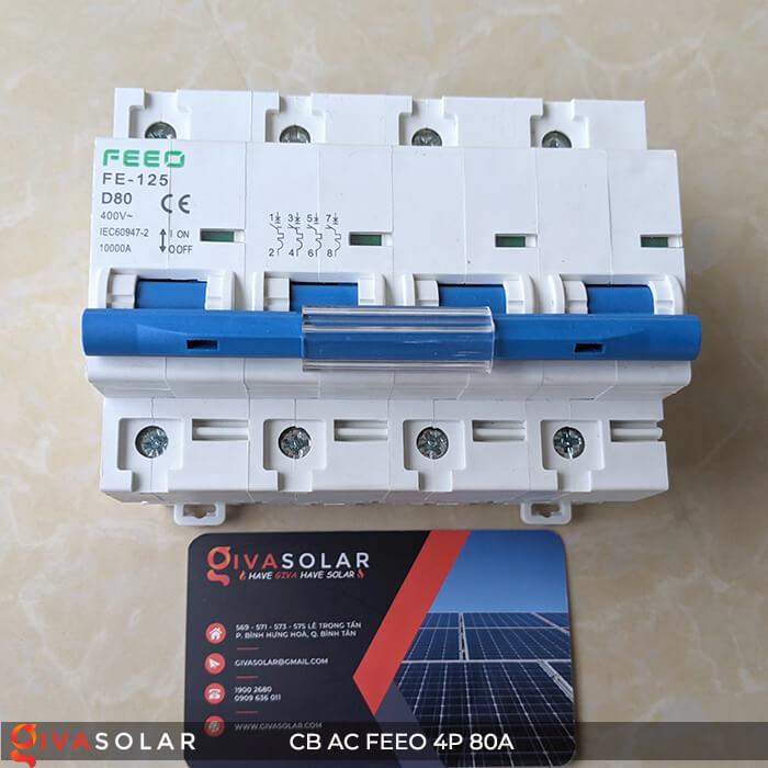 CB AC FEEO 4P 80A 4
