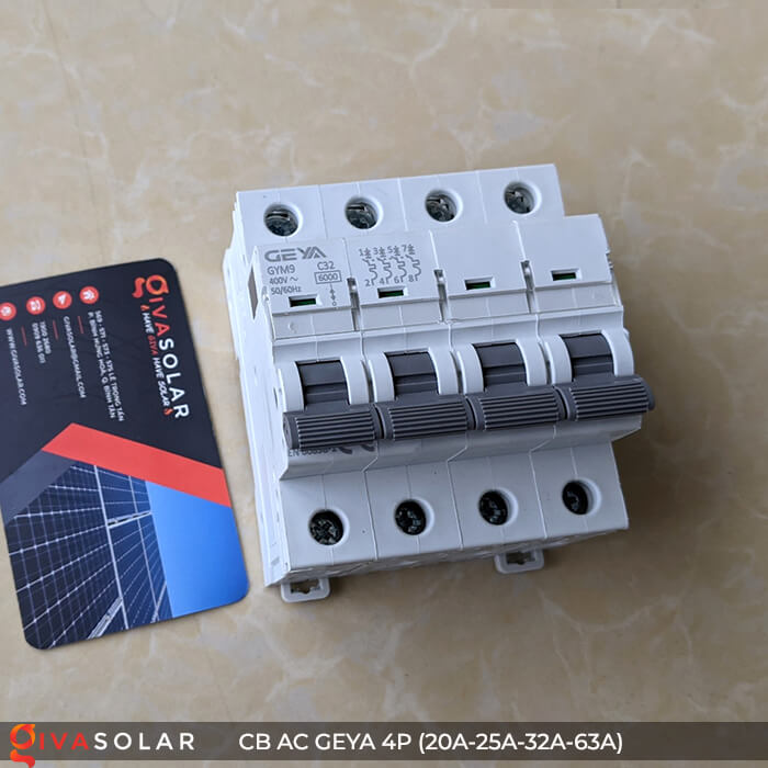 CB AC GEYA GYM9 4P 20A-25A-32A-63A 11