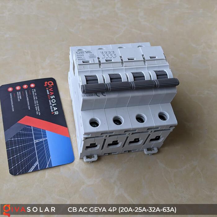 CB AC GEYA GYM9 4P 20A-25A-32A-63A 12