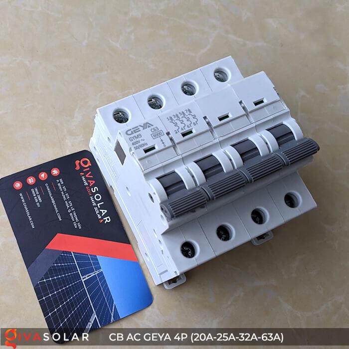 CB AC GEYA GYM9 4P 20A-25A-32A-63A 13