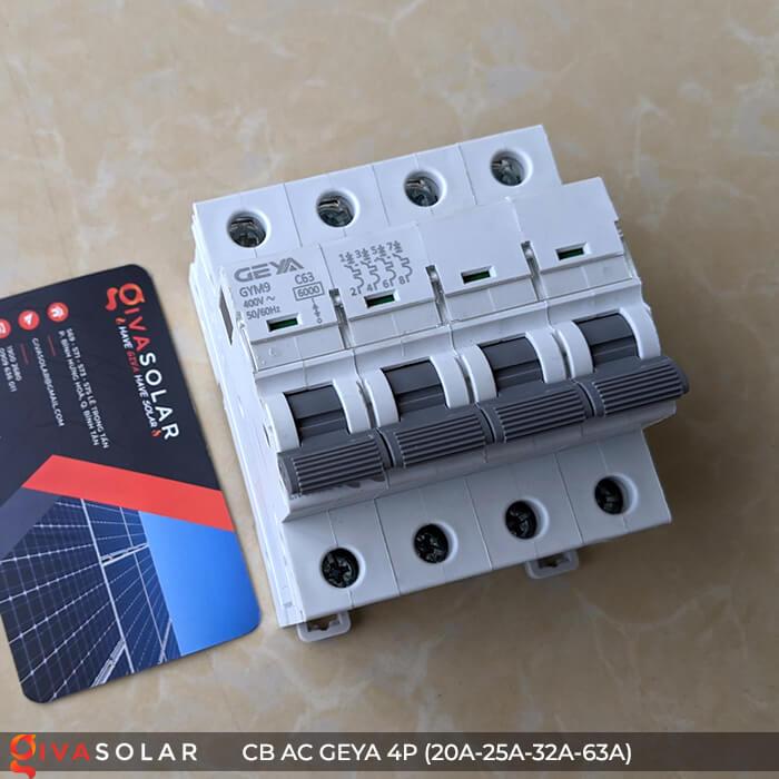 CB AC GEYA GYM9 4P 20A-25A-32A-63A 14