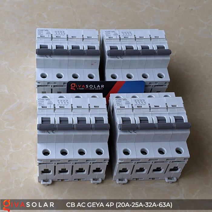 CB AC GEYA GYM9 4P 20A-25A-32A-63A 2