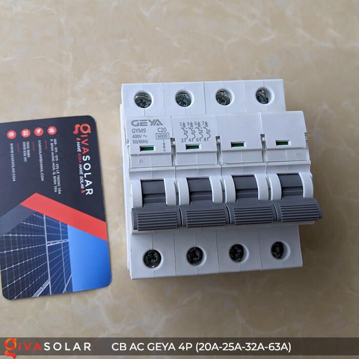 CB AC GEYA GYM9 4P 20A-25A-32A-63A 3