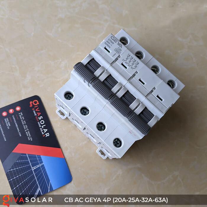 CB AC GEYA GYM9 4P 20A-25A-32A-63A 4