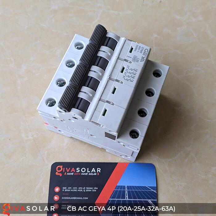 CB AC GEYA GYM9 4P 20A-25A-32A-63A 5