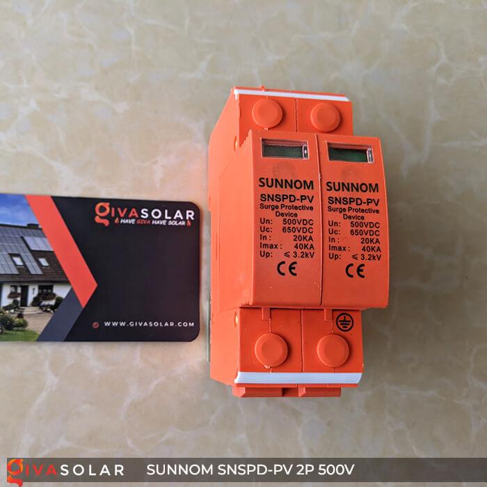 CB Chống sét DC SUNNOM 2P 500V 1