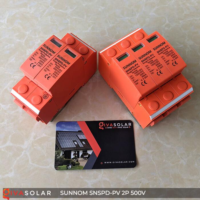 CB Chống sét DC SUNNOM 2P 500V 2