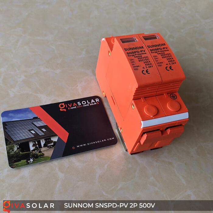 CB Chống sét DC SUNNOM 2P 500V 3