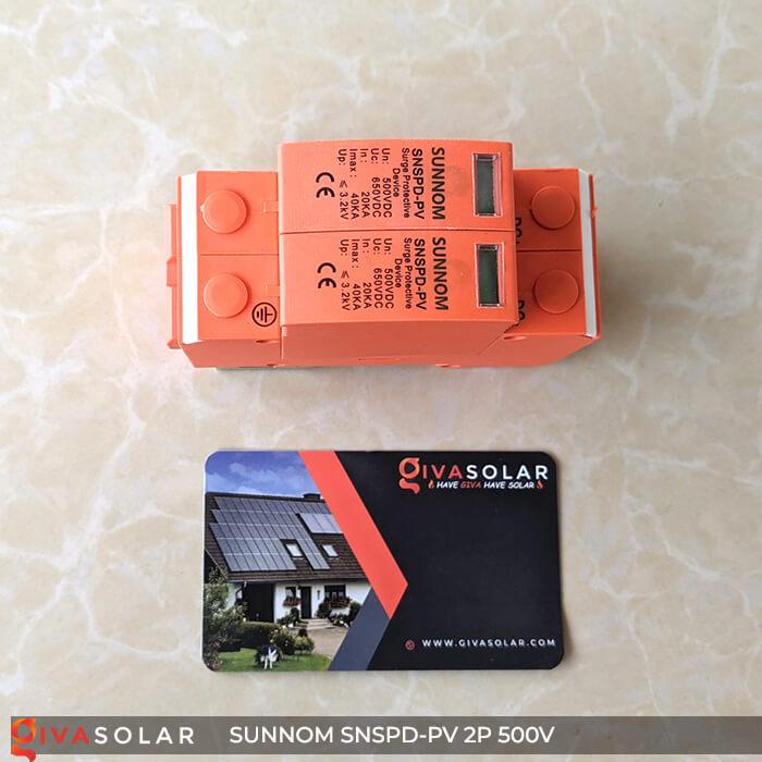 CB Chống sét DC SUNNOM 2P 500V 4