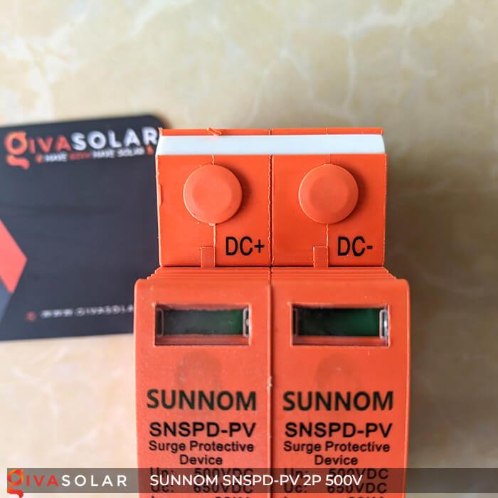 CB Chống sét DC SUNNOM 2P 500V 7
