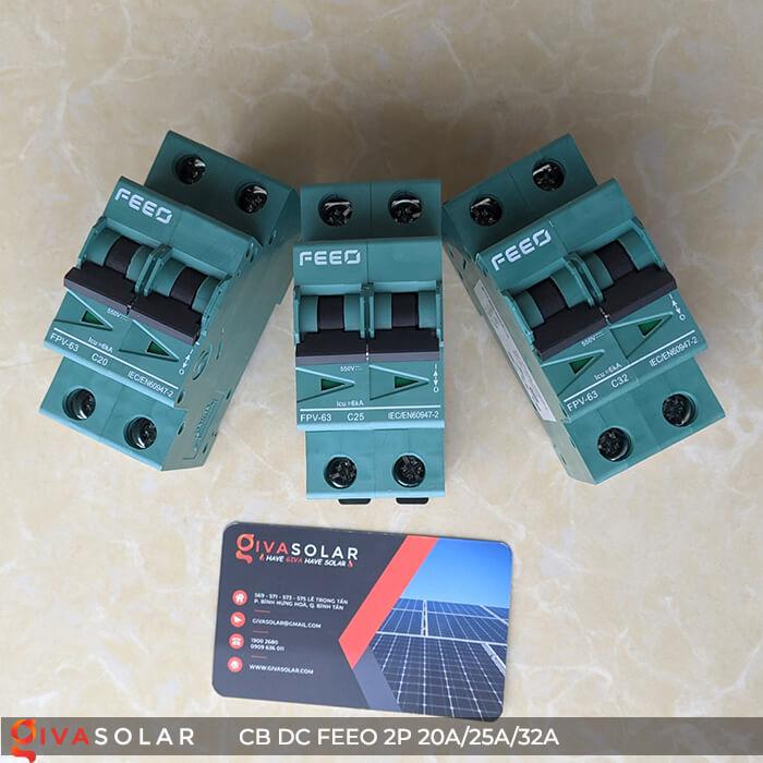 CB DC FEEO 2P 550V 20A/25A/32A 1