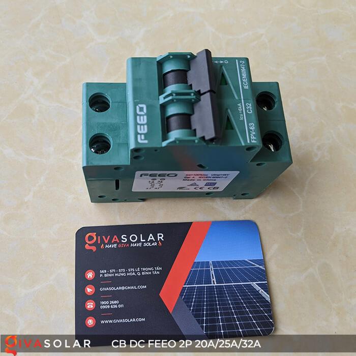 CB DC FEEO 2P 550V 20A/25A/32A 10