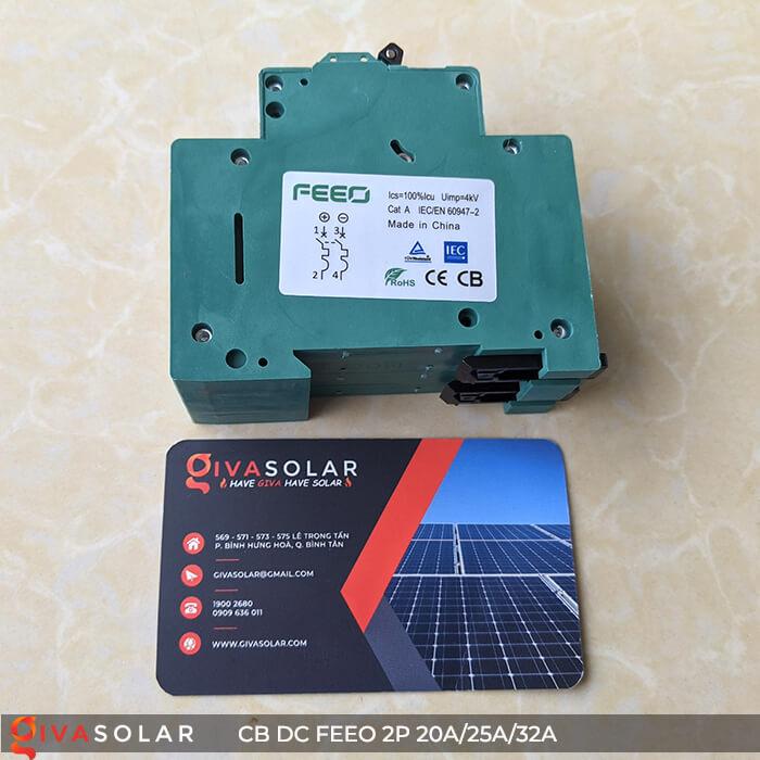 CB DC FEEO 2P 550V 20A/25A/32A 11
