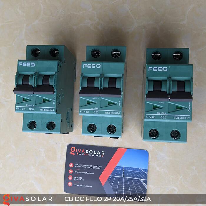 CB DC FEEO 2P 550V 20A/25A/32A 2