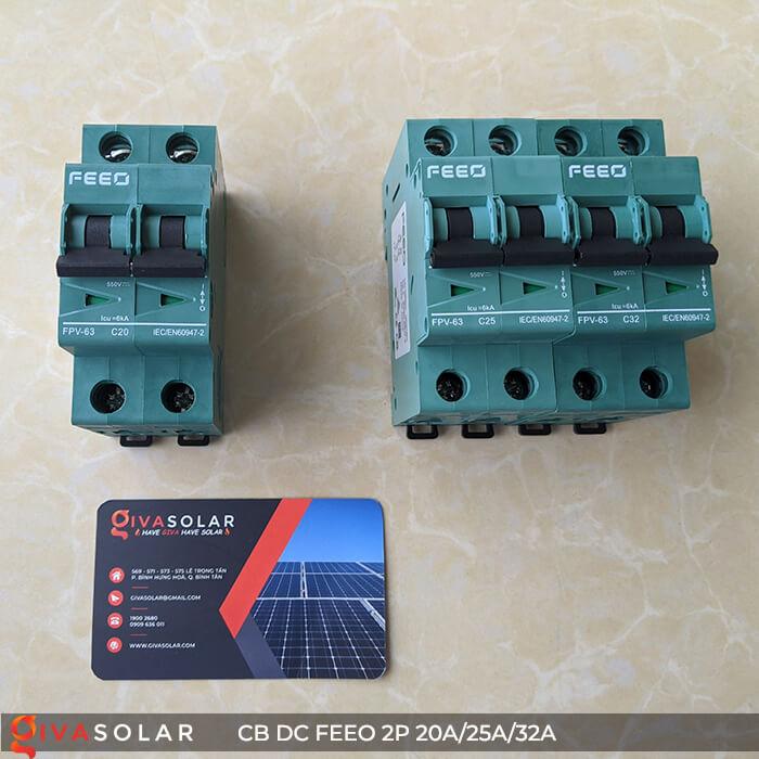 CB DC FEEO 2P 550V 20A/25A/32A 3