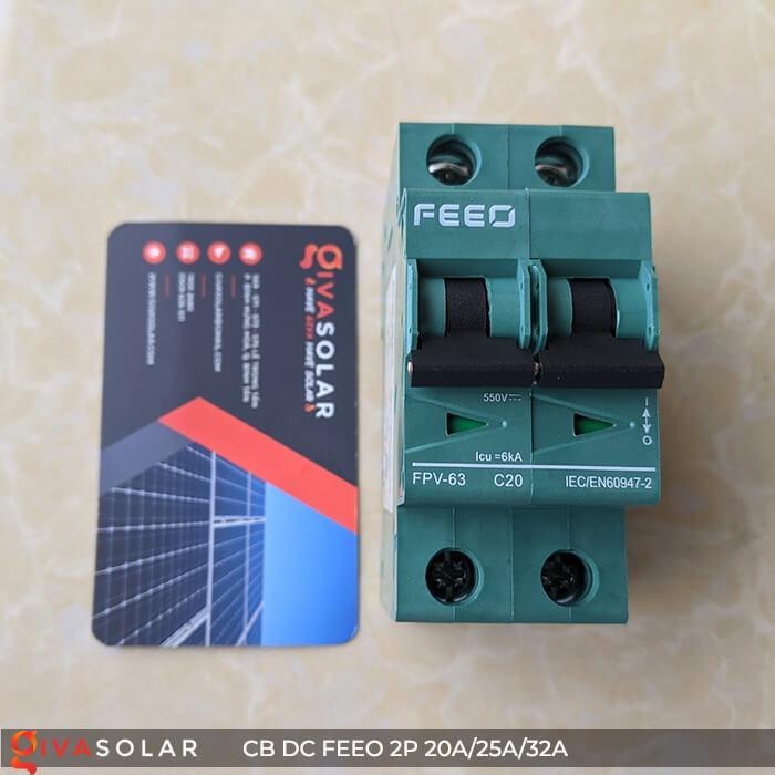 CB DC FEEO 2P 550V 20A/25A/32A 4