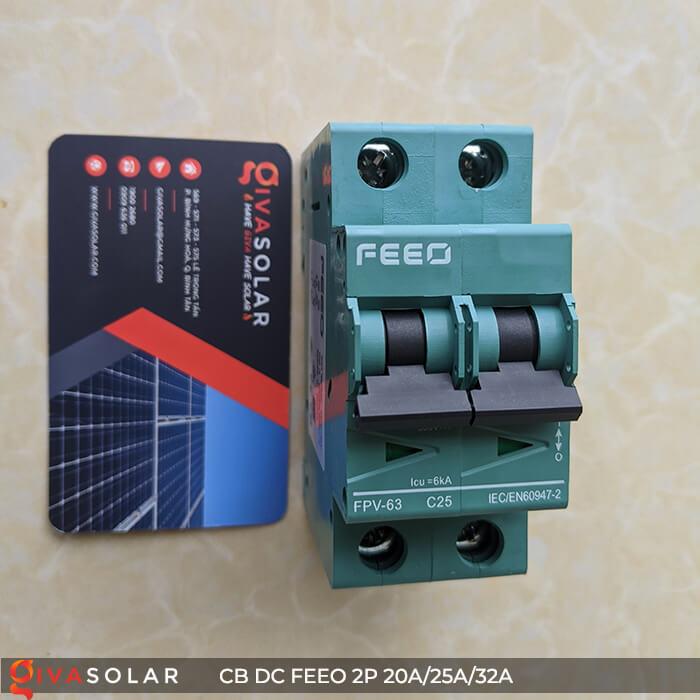 CB DC FEEO 2P 550V 20A/25A/32A 7
