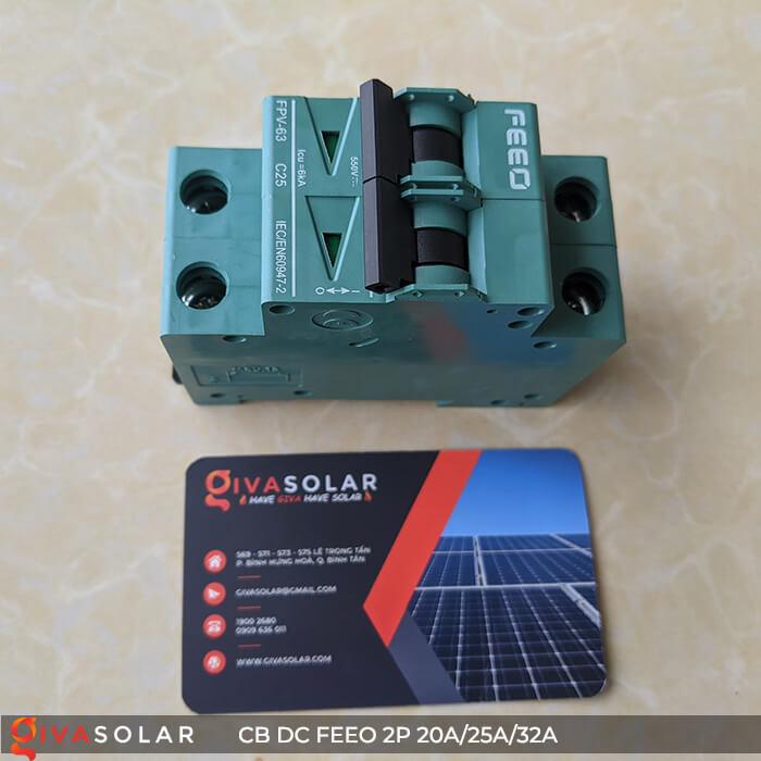 CB DC FEEO 2P 550V 20A/25A/32A 8