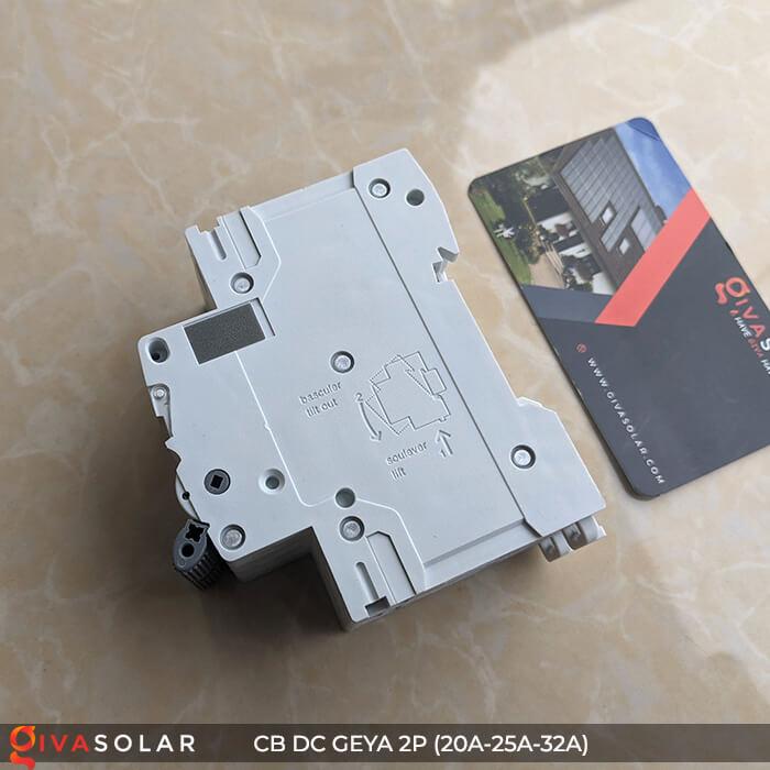 CB DC GEYA GYM9 2P 20A-25A-32A 6