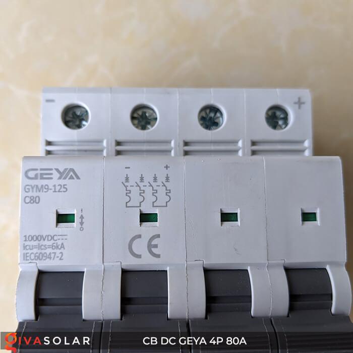 CB DC GEYA GYM9 4P 80A 10
