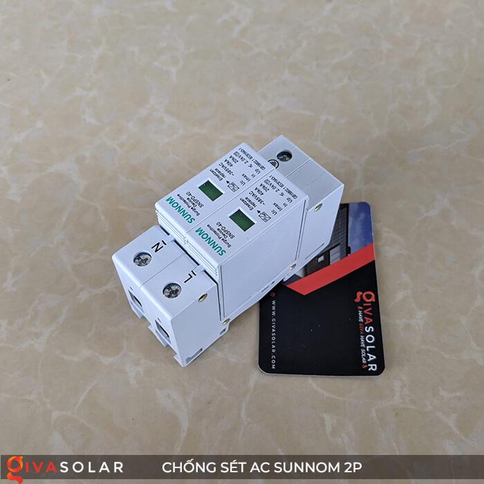 Chống sét AC Sunnom 2P 20-40KA 385VAC 4