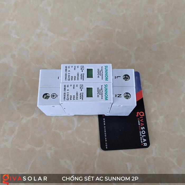 Chống sét AC Sunnom 2P 20-40KA 385VAC 5