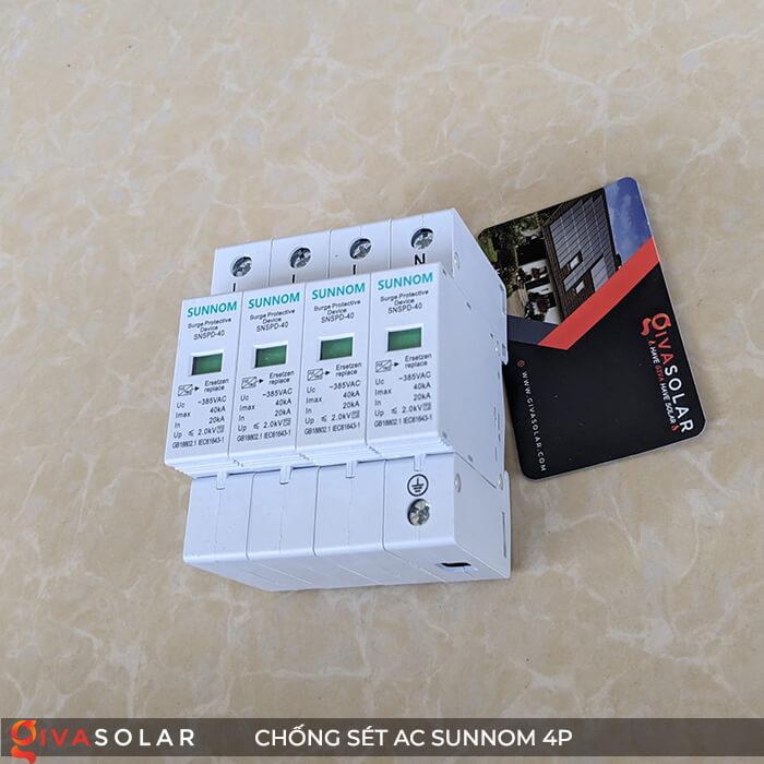 Chống sét AC Sunnom 4P 20-40KA 385VAC 5