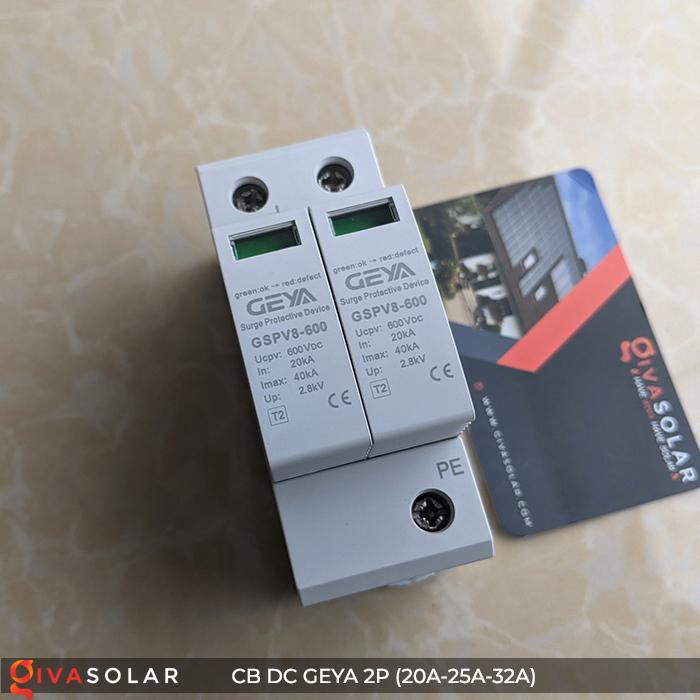 Chống Sét DC GEYA 2P 600V 1