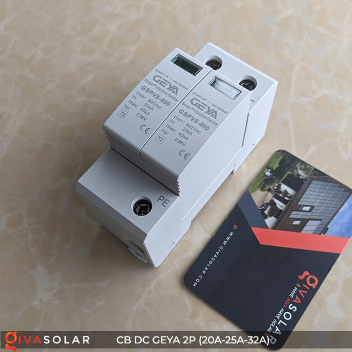 Chống Sét DC GEYA 2P 600V 2