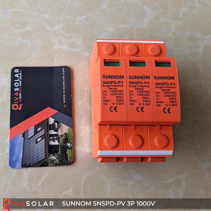 Chống sét DC SUNNOM 3P 1000V 1