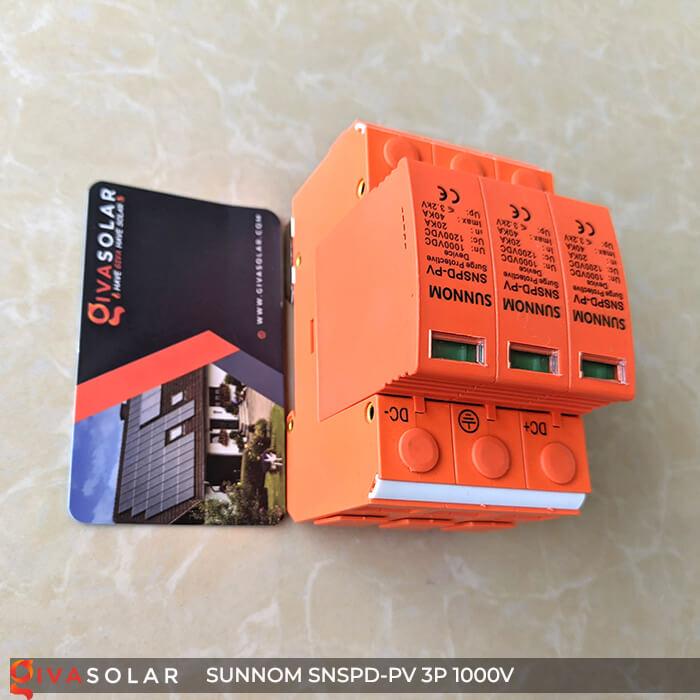 Chống sét DC SUNNOM 3P 1000V 4