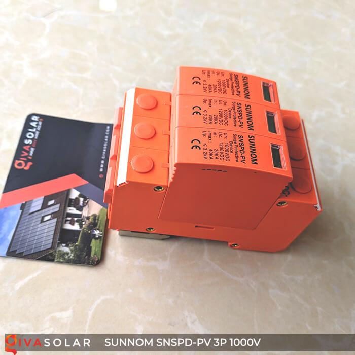 Chống sét DC SUNNOM 3P 1000V 5