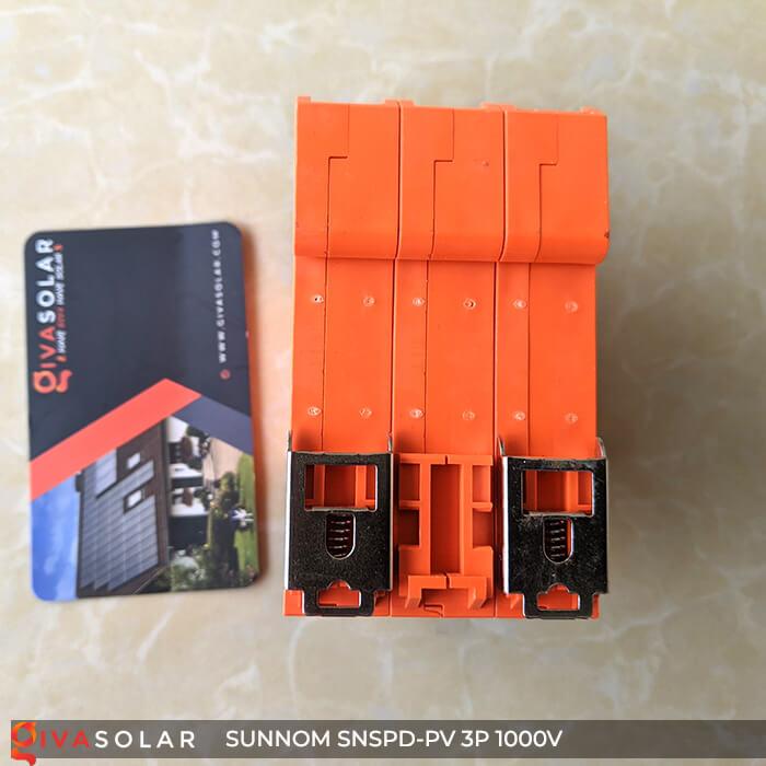 Chống sét DC SUNNOM 3P 1000V 6
