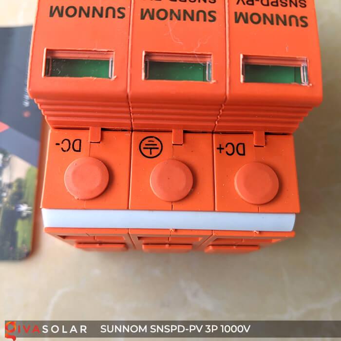 Chống sét DC SUNNOM 3P 1000V 8